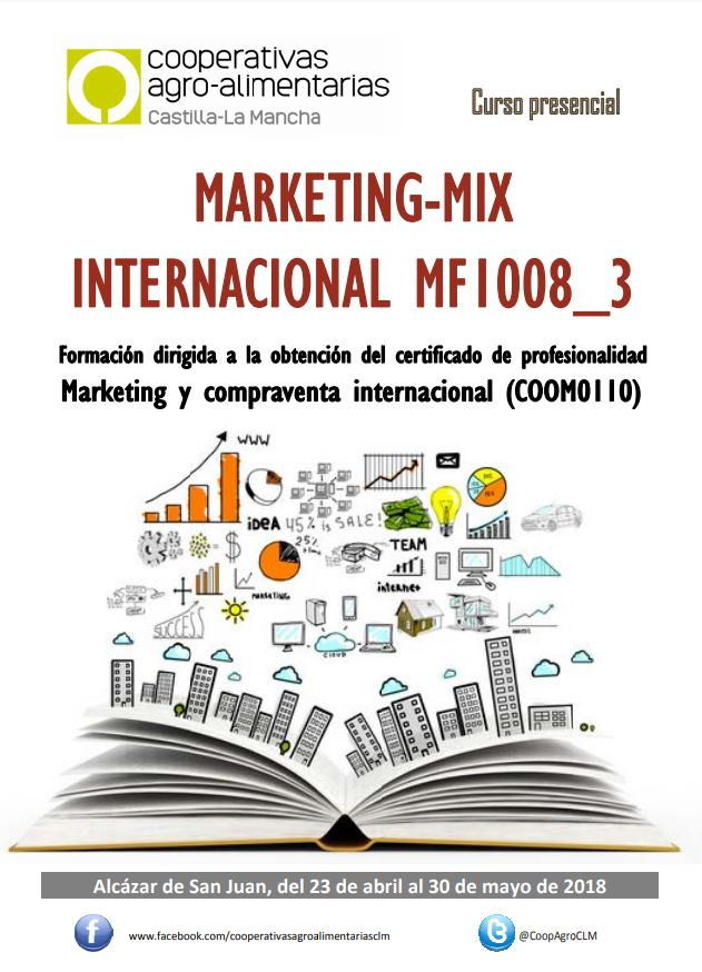 Marketing-Mix Internacional MF1008_3 (Alcázar de San Juan)